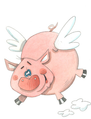 Flying Pig (Pigs Collection)