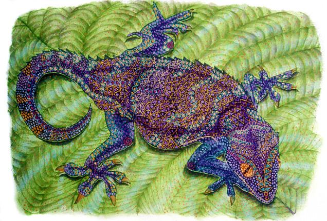 Passion (Reptile Series - Gecko)