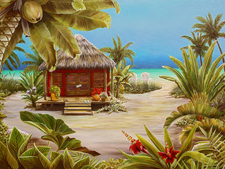 Gone to the beach - Tropical