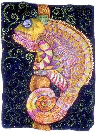 Skin Deep (Reptile Series - Chameleon)