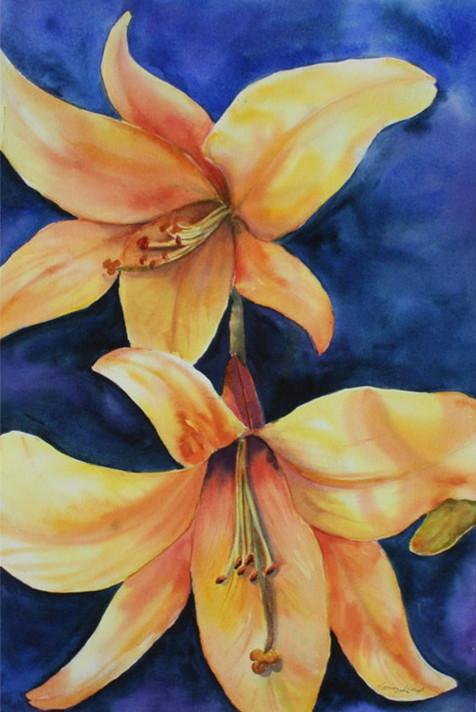 Yellow Lilies (K62)