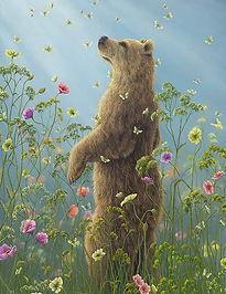 View Robert Bissell's portfolio of bears, rabbits, and other beautiful animals for licensing.