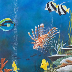Copy of Reef 2 - Coral and tropical fish