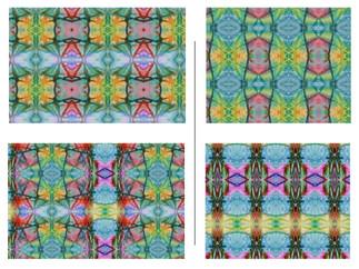 Kala Pattern Size Variations