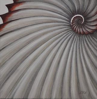 Crimson Spiral - Seashell
