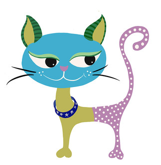 BlueFace Kitty
