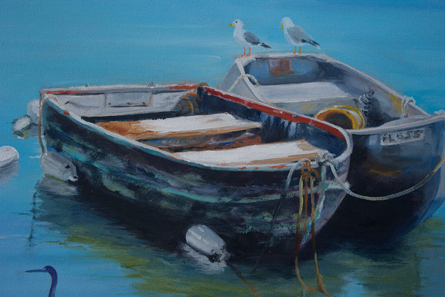 Two Row Boats with Birds.jpg