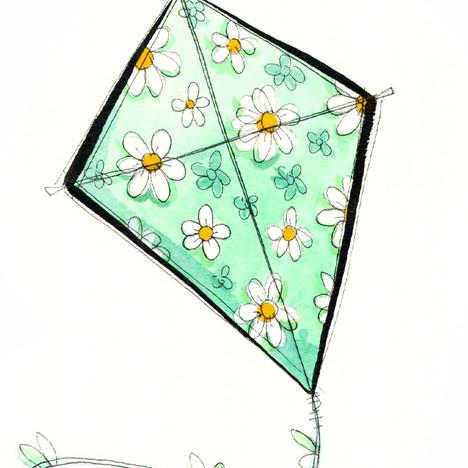 Daisies Kite