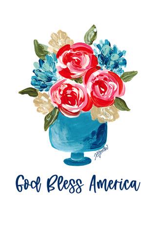 Patriotic Floral Vase_GodBlessAmerica copy.jpg