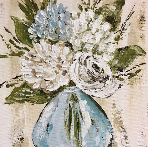 Blue and White Flowers in Vase.jpg