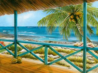 Cat Island 2 - Tropical Beach Scene with