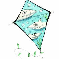 Sharks Kite