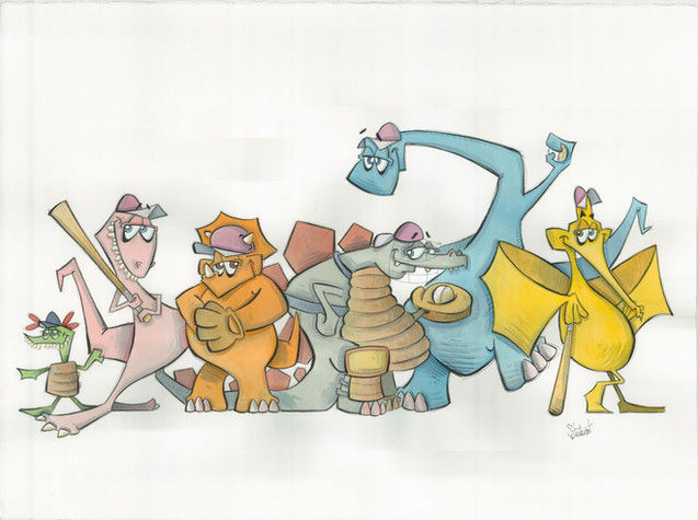Baseball Dinosaurs