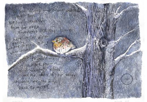 Whisper (Bird in Tree)