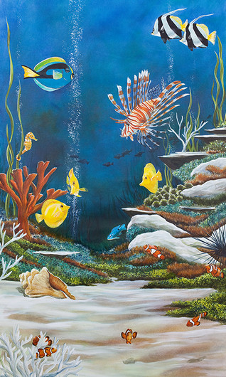 The Reef - Coral and tropical fish