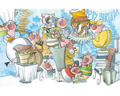 The Birthday Party (Pigs Collection)