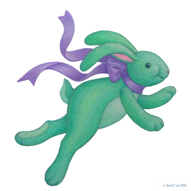 Stuffed Toy Green Bunny Rabbit.jpg