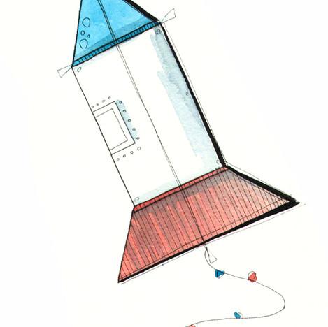 Spaceship Kite
