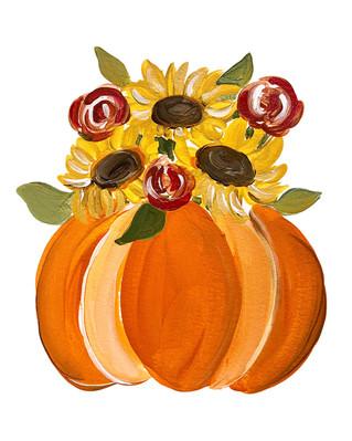 orange pumpkin with sunflowers-lr.jpg