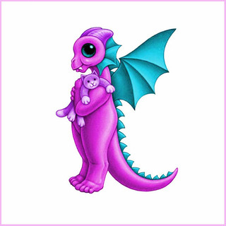 Baby Dragon Letters