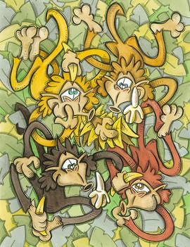 Monkeys and Bananas (Jungle Collection)