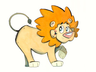 Happy Lion (Jungle Collection)