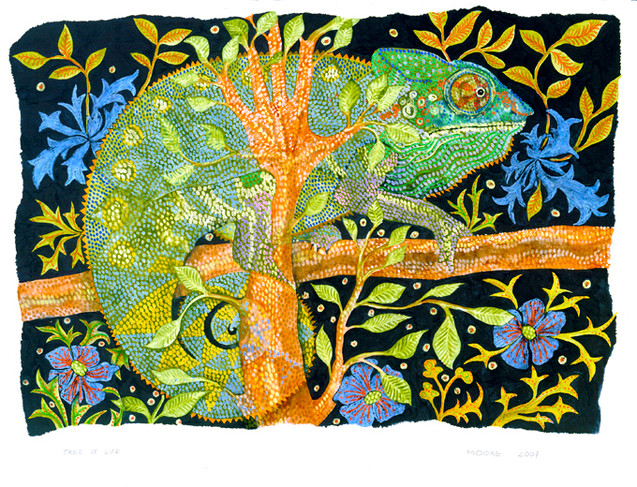 Tree of Life (Reptile Series - Chameleon