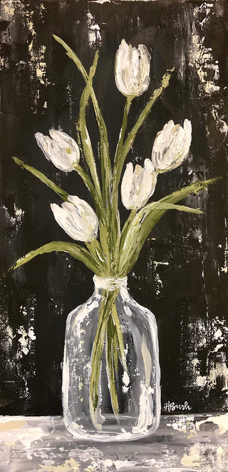 White Tulips in Glass Jar.jpg