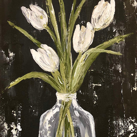 White Tulips in Glass Jar.jpg