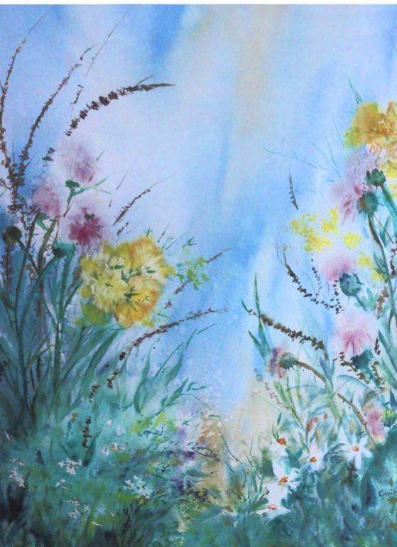 Flowers in Field (K104)