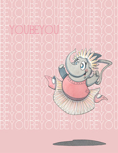 You Be You Ballerina  (Jungle Collection