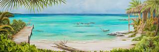 Coastal Seclusion - Tropical Beach Birds