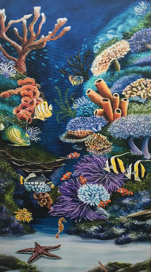 Reef-2 - Tropical Fish