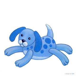 Stuffed Toy Blue Puppy.jpg