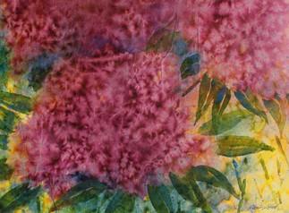 Pink Poof Flowers (K83)