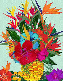 Pineapple Bouquet by Suzan Lind