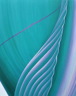 Turquoise Quiet - Seashell