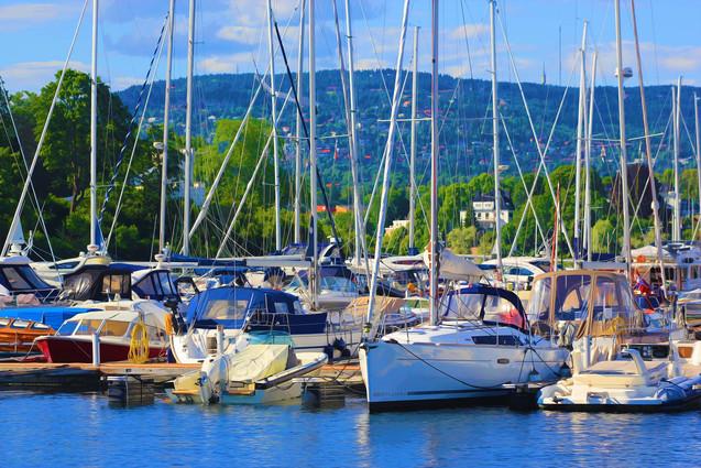 Bergen, Norway Boats