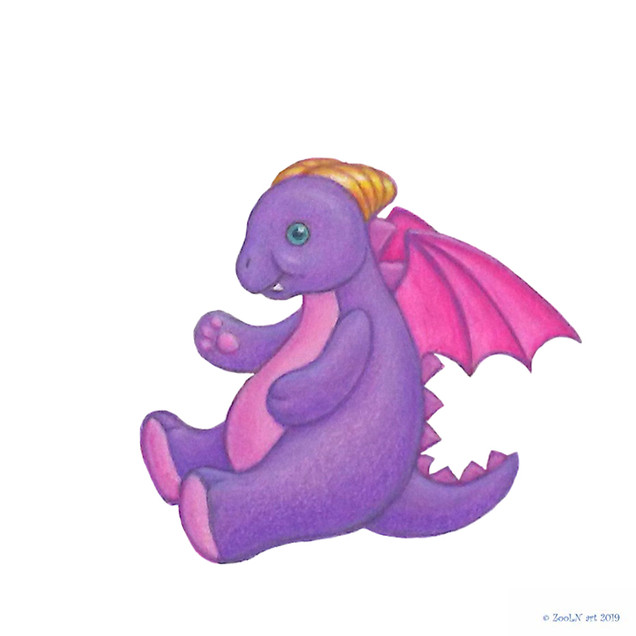 Stuffed Toy Purple Dragon.jpg