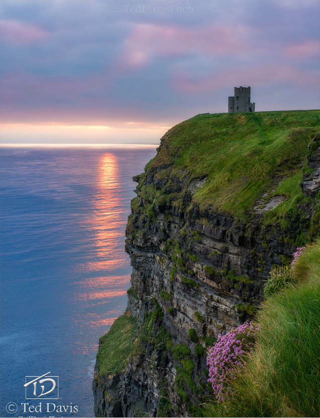 Watch Tower Sunsets Cliffs of Moher Irel