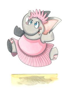 Ballerina Elephant  (Jungle Collection)