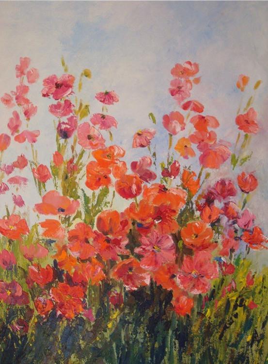 Field of Orange Flowers (K94)