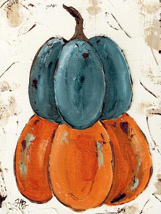 Pumpkin stack by Haley Bush
