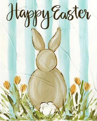 Bunny Blue Stripes_Happy Easter_8x10.jpg