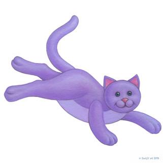 Stuffed Toy Purple Kitten.jpg
