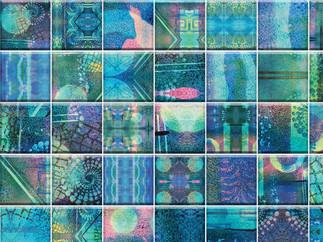 Kala Teal Watercolor Tiles