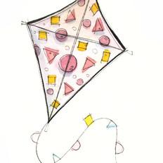 Shapes Kite