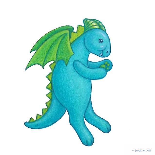 Stuffed Toy Blue Dragon.jpg