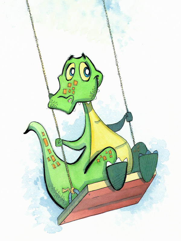 Swinging Crocodile (Jungle Collection)