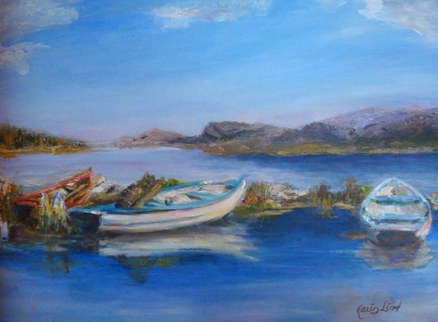 Docked Rowboats (K92)